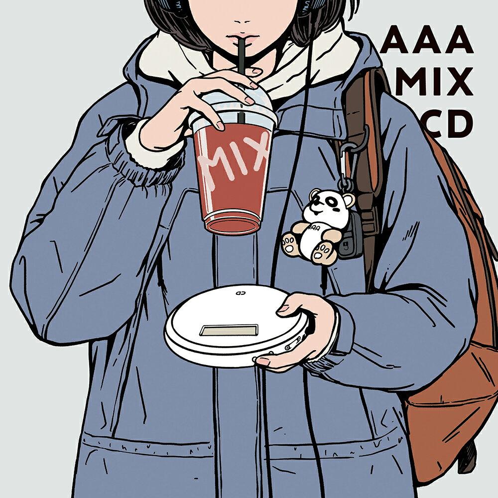 【先着特典】AAA MIX CD (初回生産限定盤 CD+グッズ)(ステッカー)画像