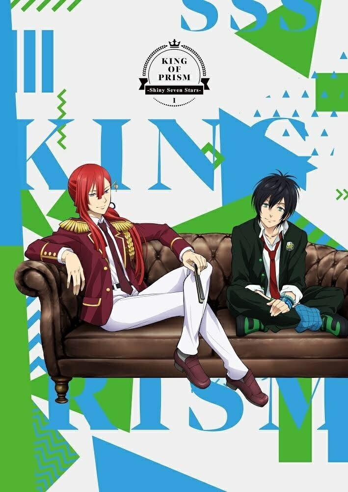 キッズアニメ, その他 KING OF PRISM -Shiny Seven Stars- 1Blu-ray