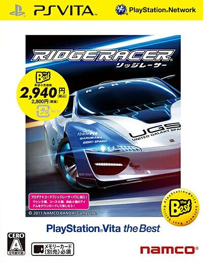 BANDAI NAMCO Entertainment(バンダイナムコエンターテインメント)『リッジレーサー PlayStation Vita the Best』