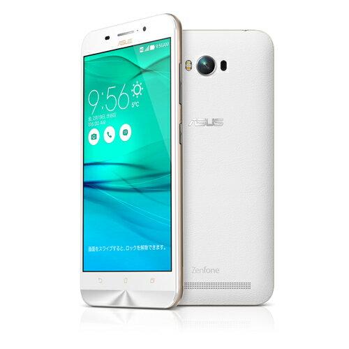 Zenfone Max ホワイト ZC550KL-WH16 (SIMフリー/Android5.0.2 /5.5inch /デュアルmicroSIM /LTE /5...