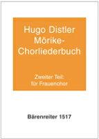 【輸入楽譜】ディストラー, Hugo: メーリケ合唱曲集 Op.29(女声合唱)