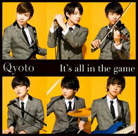 It's all in the game (初回限定盤 CD+DVD)