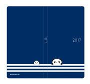 【楽天限定】ほぼ日手帳 2017 weeks お買いものパンダ・ライン(1月始まり) ウィークリー