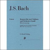 【輸入楽譜】バッハ, Johann Sebastian: 2本のバイオリンのための協奏曲 ニ短調 BWV 1043/原典版: ピアノ・リダクション