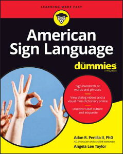 American Sign Language for Dummies with Online Videos AMER SIGN LANGUAGE FOR DUMMIES (For Dummies (Lifestyle)) [ Adan R. Penilla ]