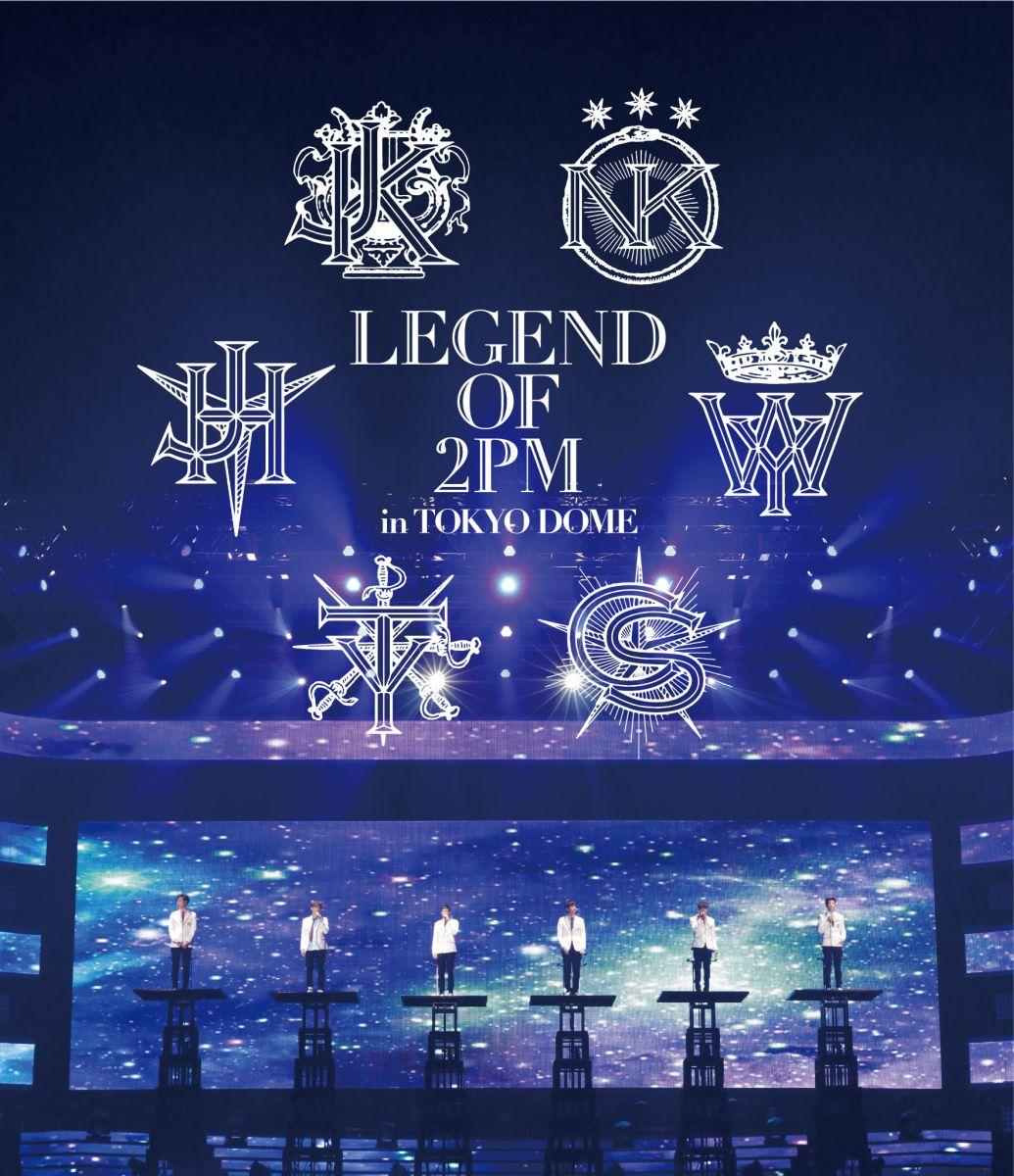 ミュージック, その他 LEGEND OF 2PM in TOKYO DOME Blu-ray 2PM