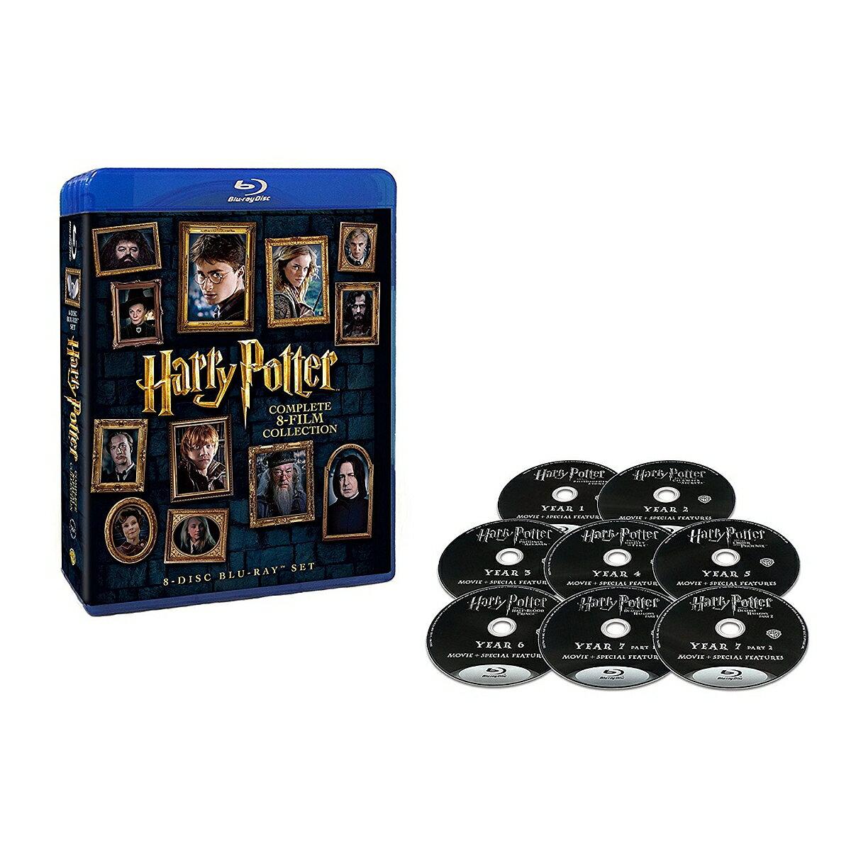 ハリー・ポッター 8-Film ブルーレイセット【Blu-ray】