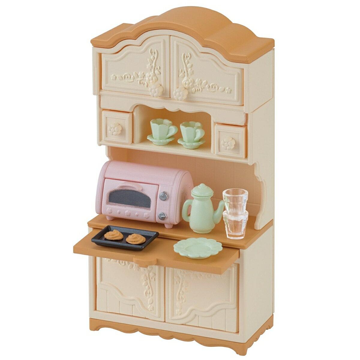 シルバニアファミリー SF家具 カー419 食器棚・トースターセット