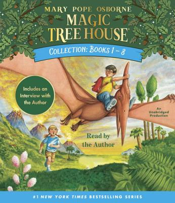 Magic Tree House Collection: Books 1-8: Dinosaurs Before Dark, the Knight at Dawn, Mummies in the Mo MTH COLL BKS 1-8 5D (Magic Tree House (R)) [ Mary Pope Osborne ]