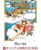 """【楽天ブックス限定先着特典+先着特典】ONE PIECE Eternal Log """"SKYPIEA""""【Blu-ray】(缶バッジ(75mm)3個セット..."""