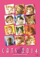 【送料無料】村松誠猫カレンダー(2014) [ 村松誠 ]