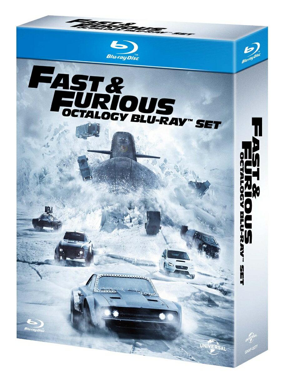 ワイルド・スピード オクタロジー Blu-ray SET(初回生産限定)【Blu-ray】