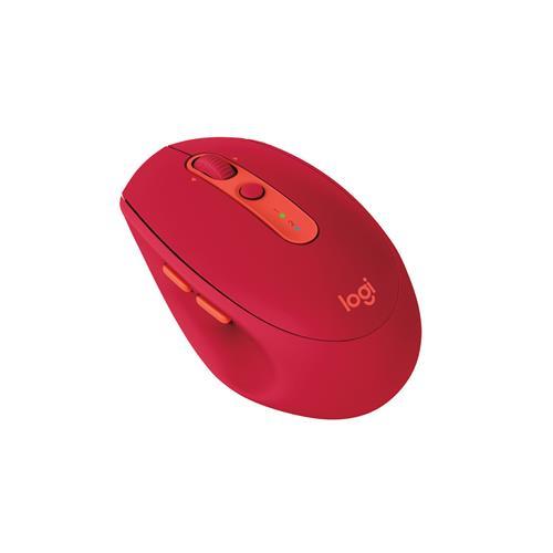 ロジクール M590 MULTI-DEVICE サイレント マウス ルビー