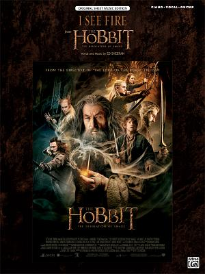 I See Fire (from the Hobbit -- The Desolation of Smaug): Piano/Vocal/Guitar, Sheet画像