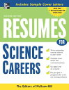 楽天ブックスで買える「Resumes for Science Careers RESUMES FOR SCIENCE CAREERS 2/ (McGraw-Hill Professional Resumes) [ McGraw-Hill ]」の画像です。価格は2,851円になります。