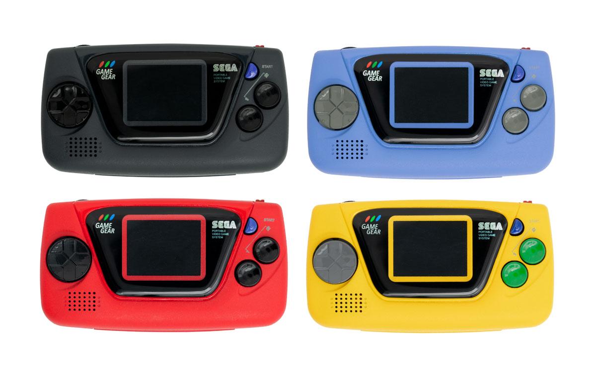 ゲームギアミクロ 4色コンプリートセット