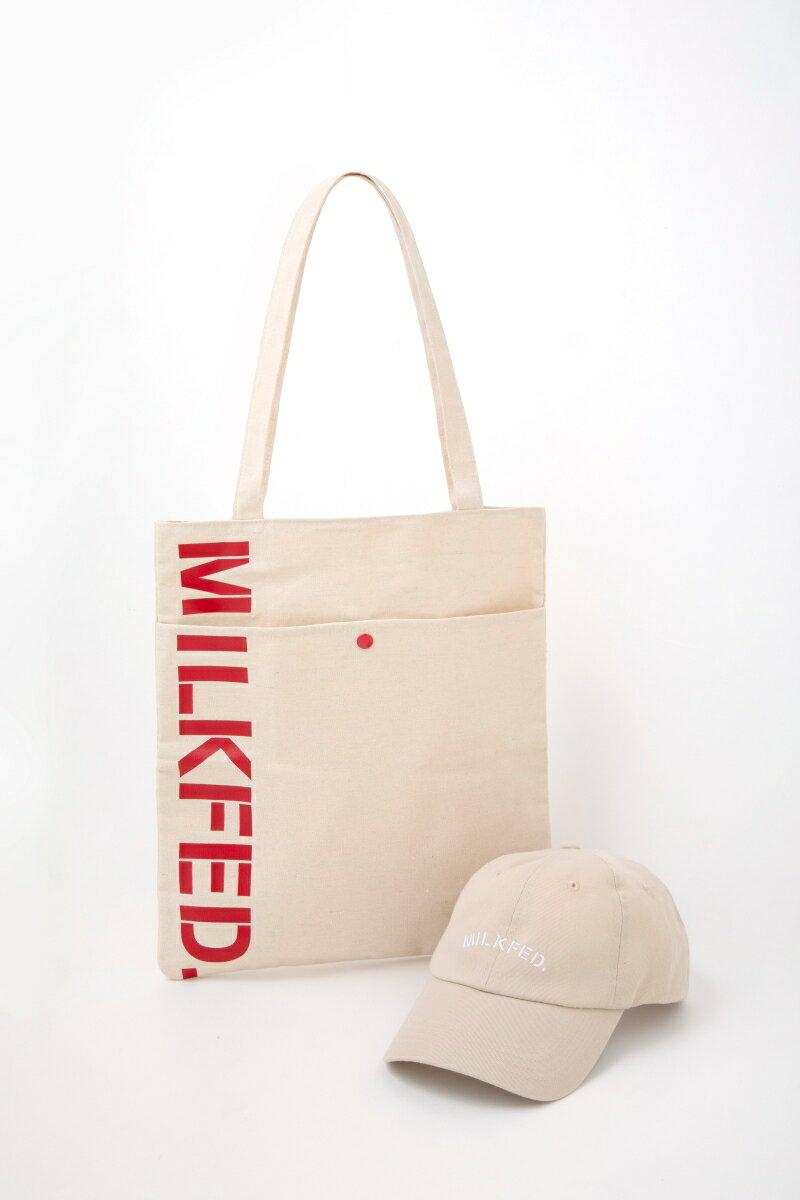 ファッション・美容, ファッション MILKFED SPECIAL BOOK Cap Tote Bag mini