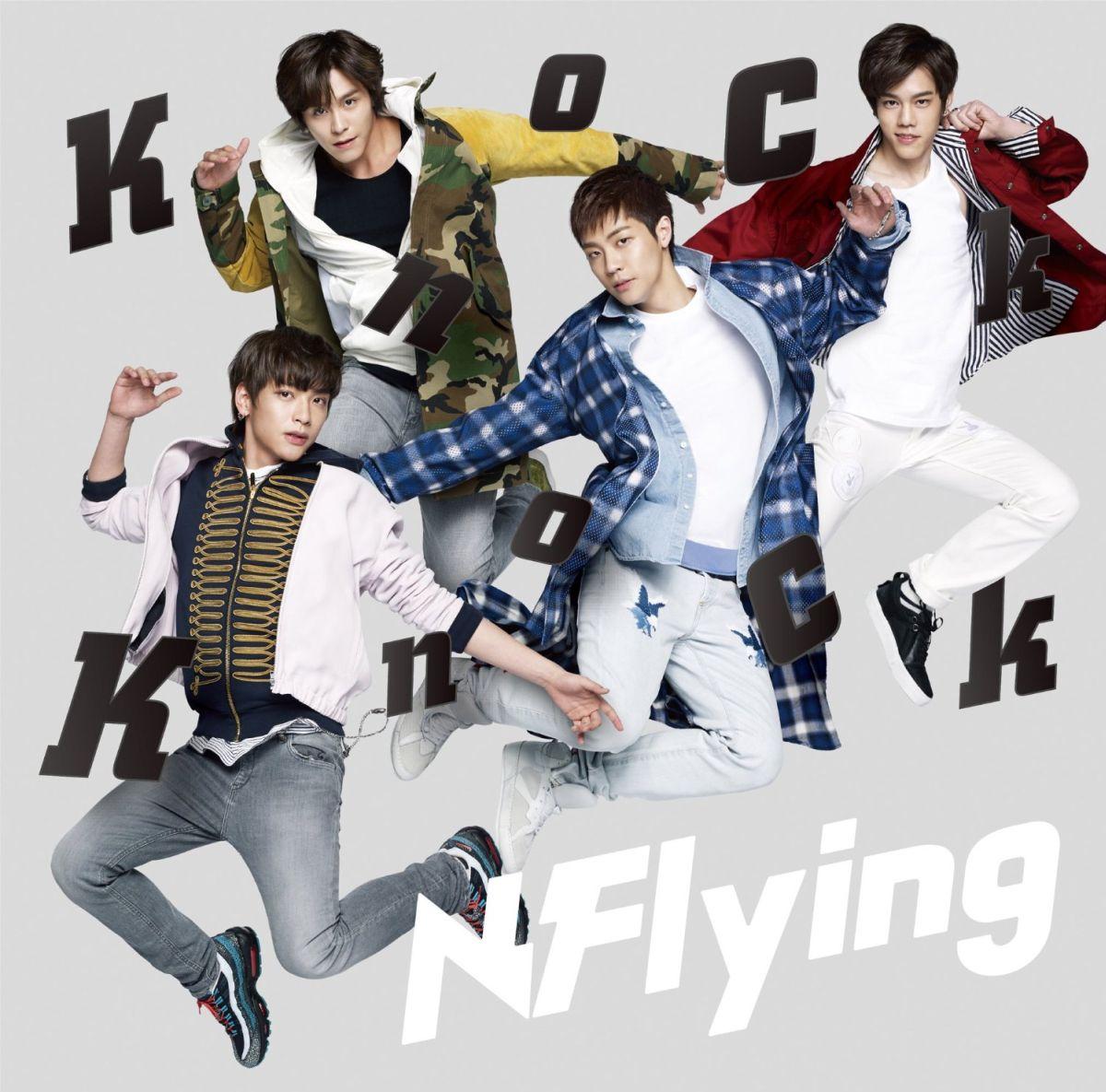 ロック・ポップス, その他 Knock Knock (A CDDVD) N.Flying