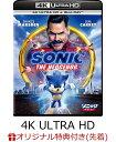 【楽天ブックス限定先着特典】ソニック・ザ・ムービー 4K Ultra HD+ブルーレイ【4K ULTRA HD】(オリジナル・トートバッグ) [ ベン・シュワルツ ]