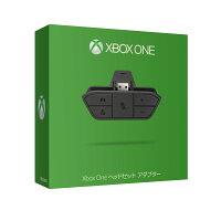 Xbox One ヘッドセット アダプターの画像