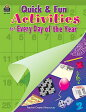 Quick and Fun Activities for Every Day of the Year