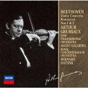 ベートーヴェン:ヴァイオリン協奏曲/ロマンス第1・2番 [ アルテュール・グリュミオー ]
