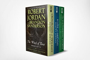 Wheel of Time Premium Boxed Set IV: Books 10-12 (Crossroads of Twilight, Knife of Dreams, the Gather WHEEL OF TIME PREMIUM BOXED SE (Wheel of Time) [ Robert Jordan ]
