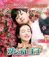 となりのツンデレ王子 BOX1<コンプリート・シンプルDVD-BOX>