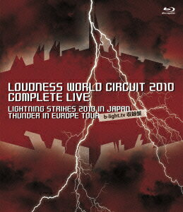 LOUDNESS WORLD CIRCUIT 2010 COMPLETE LIVE【Blu-ray】画像