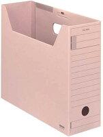 コクヨ ファイルボックス 色厚板紙 フタ付き A4 ピンク A4-LFFN-PZ