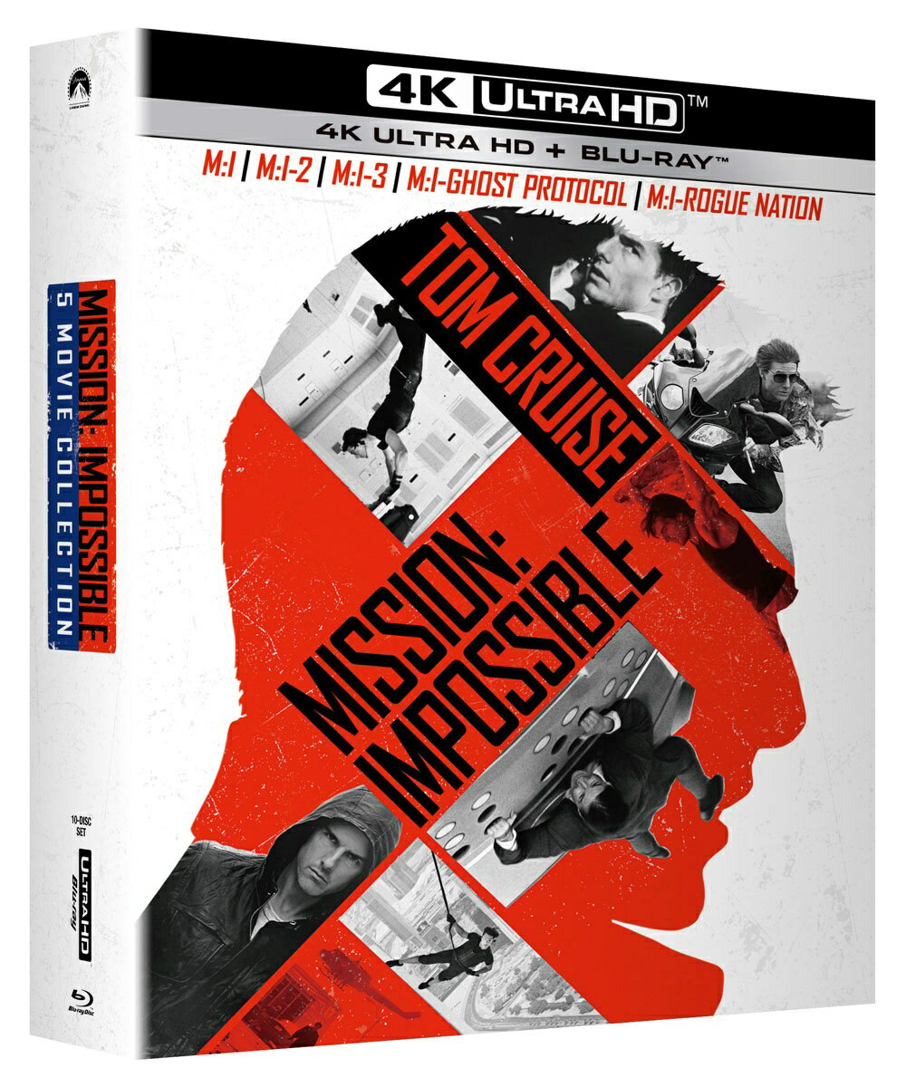 ミッション:インポッシブル 5 ムービー・コレクション(4K ULTRA HD+ブルーレイ)【4K ULTRA HD】