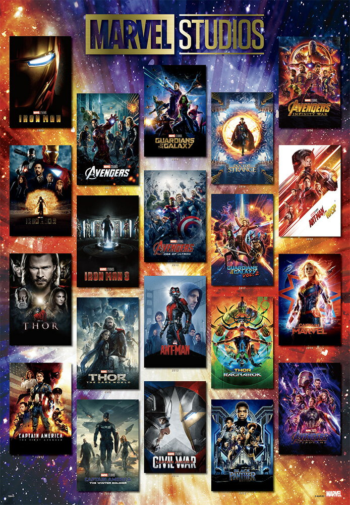 Movie Poster Collection MARVEL STUDIOS