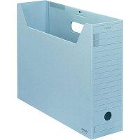コクヨ ファイルボックス 色厚板紙 フタ付 B4 青 B4-LFFN-B