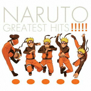 CD, アニメ NARUTO GREATEST HITS!!!!!(CDDVD) ()