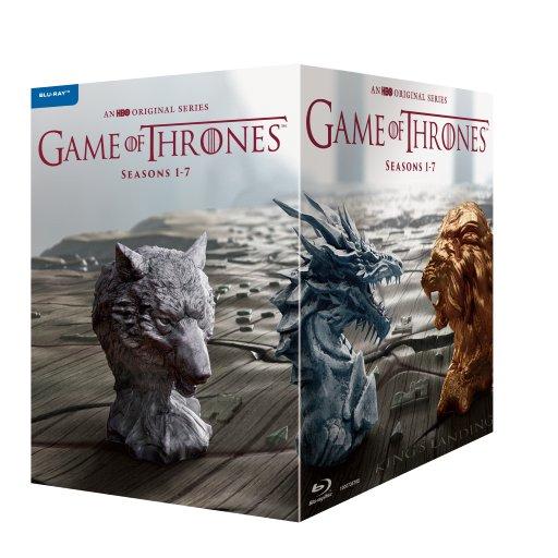 ゲーム・オブ・スローンズ<第一〜第七章>ブルーレイ・ボックス(35枚組+ボーナス・ディスク5枚付)(初回限定生産)【Blu-ray】