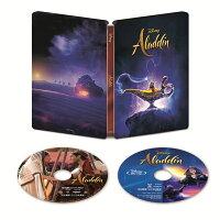 【楽天ブックス限定】アラジン 4K UHD MovieNEX スチールブック(数量限定)【4K ULTRA HD】+コレクターズカード