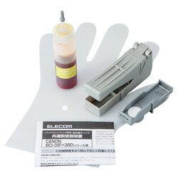 詰替えインク/キヤノン/BCI-381対応/イエロー(4回分) THC-381Y4