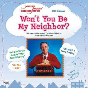 Mister Rogers' Neighborhood 2020 Square CAL-MISTER ROGERS NEIGHBORHOOD [ Inc Browntrout Publishers ]