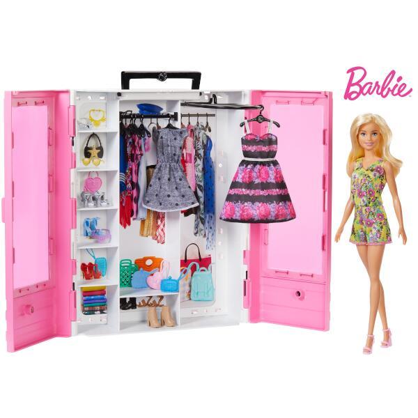 バービー バービーとピンクなクローゼット 【ドール&ファッションアクセサリーセット】 GBK12