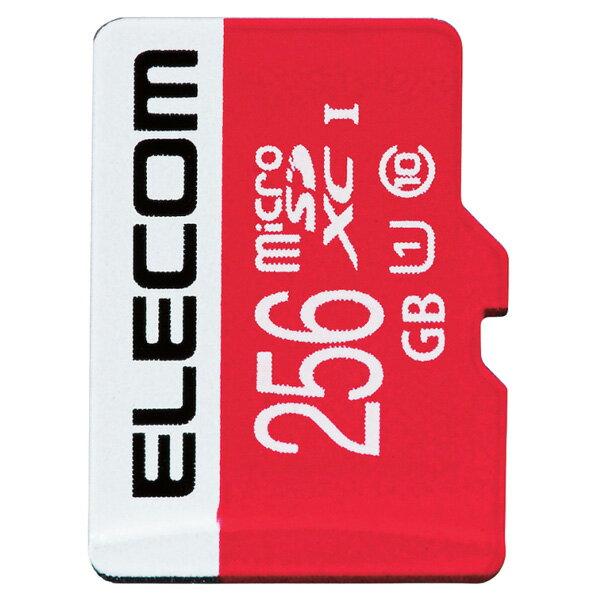 エレコム microSDXCカード/UHS-I/U1/Class10/Nintendo Switch検証済/256GB GM-MFMS256G