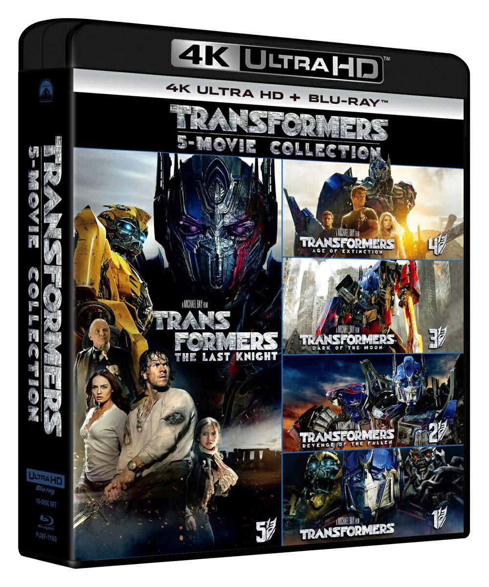 トランスフォーマー 5 ムービー・コレクション(4K ULTRA HD+ブルーレイ)【4K ULTRA HD】画像
