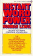 Instant Word Power: The Unique, Proven Program for Increasing Your Vocabulary--Your Vital Key to Soc [ Norman Lewis ]