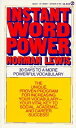 INSTANT WORD POWER(A) [ NORMAN LEWIS ]