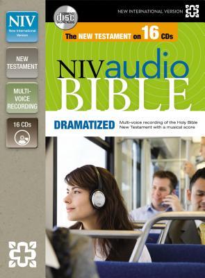 New Testament-NIV B-NI-ZON-NT DRAMATIZED 16D [ Zondervan ]