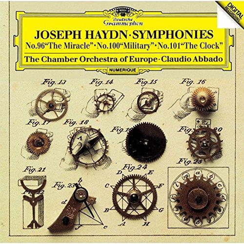 ハイドン:交響曲第96番≪奇蹟≫ 第100番≪軍隊≫・第101番≪時計≫画像