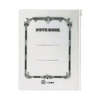 エムプラン ノート ツバメ×CUBIX SZケースA5 01ホワイト・2P 910123-01
