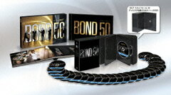【送料無料】【映画100対象】 【BD2枚以上最大5倍】007 製作50周年記念版 ブルーレイBOX 【初...