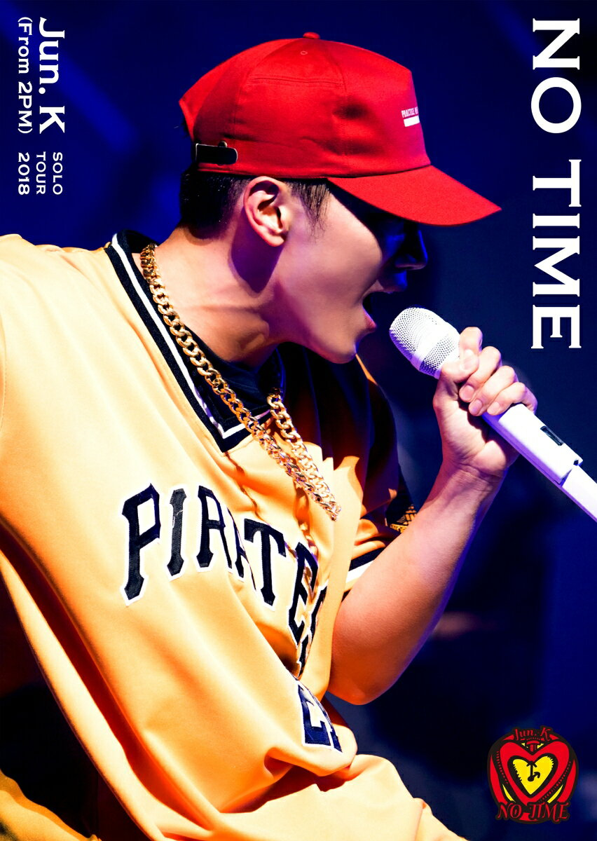 "Jun. K (From 2PM) Solo Tour 2018 ""NO TIME""(DVD初回生産限定盤)"