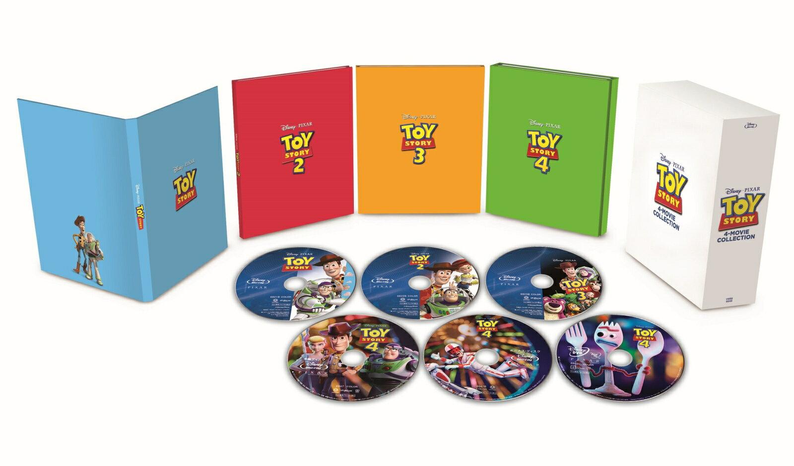 トイ・ストーリー:4ムービー・コレクション(数量限定)【Blu-ray】
