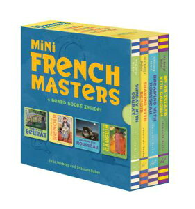 Mini French Masters Boxed Set: 4 Board Books Inside! (Books for Learning Toddler, Language Baby Book MINI FRENCH MASTERS BOXED SET [ Julie Merberg ]